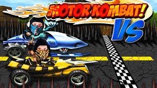 Scorpion Versus Sub-Zero - Mortal Kombat Armageddon MOTOR KOMBAT   MK PARODY!