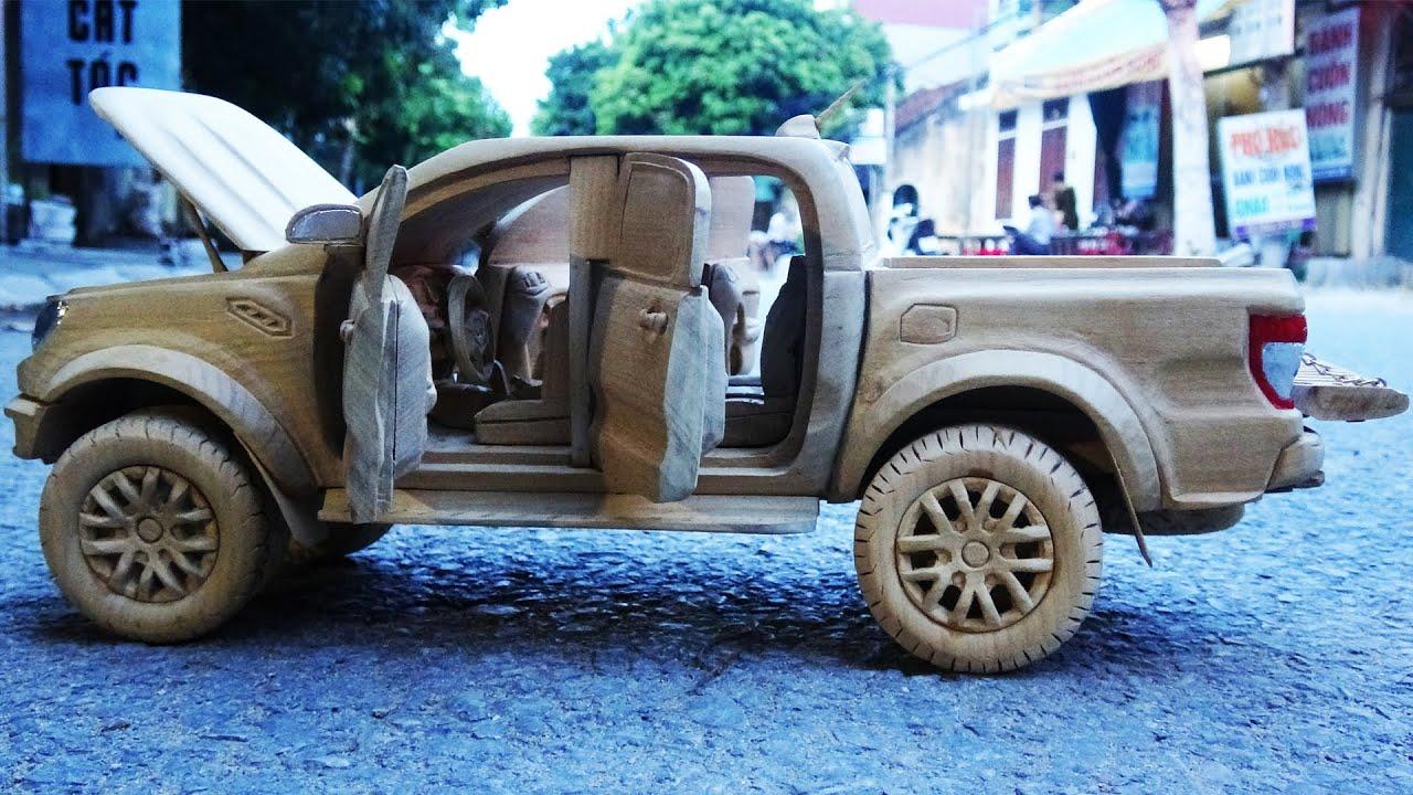 Ford Ranger Raptor 2021 - Wood Carving