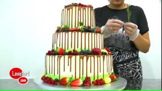 Украшаем торт ягодами - lovetort.com