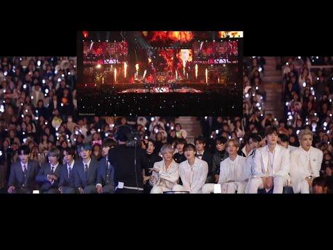 IDOLS reaction to BTS [방탄소년단] (N.O. + We Are Bulletproof pt.2) MAMA 2019