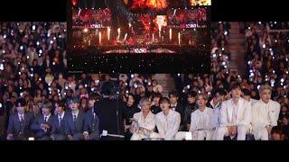 IDOLS reaction to BTS 방탄소년단 (N.O. + We Are Bulletproof pt.2) MAMA 2019