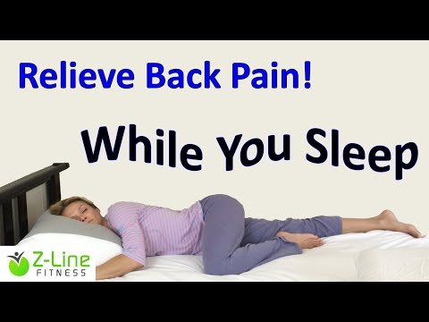 Is your sleep position creating your pain?