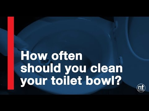 How often should you clean your toilet seat?