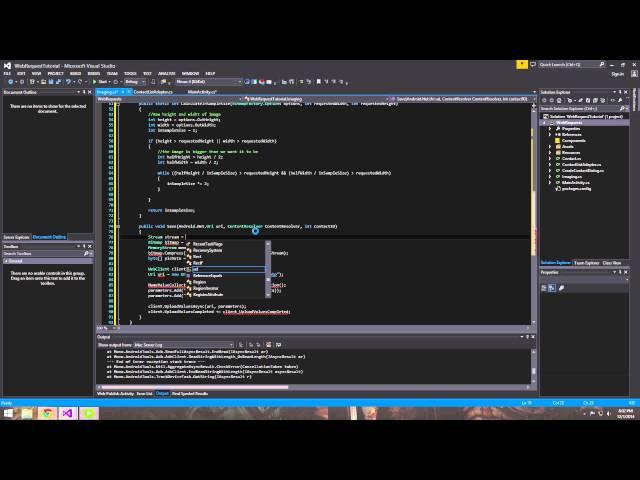 Xamarin Android Tutorial   22   Multithreading