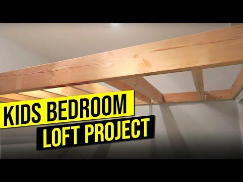 BOYS BEDROOM LOFT PROJECT | Part 1