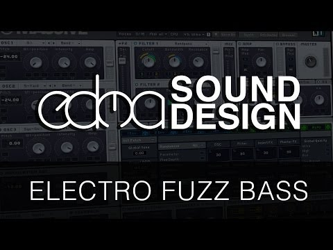 Electro house sound design