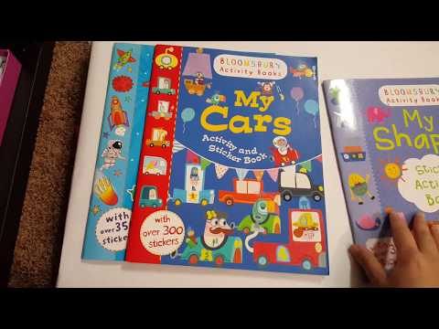 Bloomsbury Activity Books Review - age 2 to 4