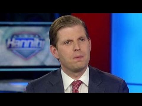 Eric Trump: National anthem should be kept sacred