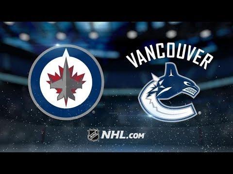 Winnipeg Jets Vs. Vancouver Canucks | NHL Game Recap | October 12, 2017 | HD
