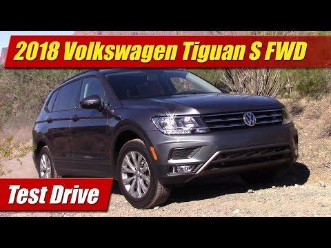 2018 Volkswagen Tiguan: Test Drive