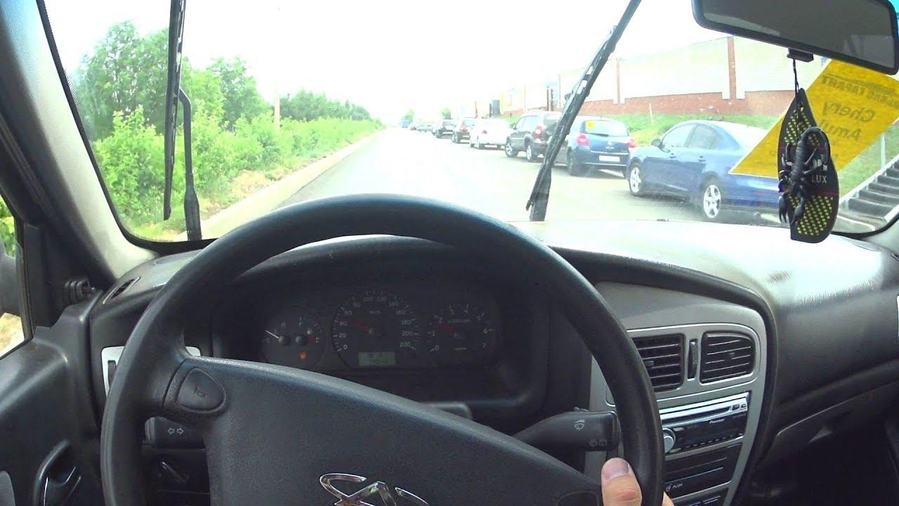 Амулет тэст драйв в видео чери амулет 2006г