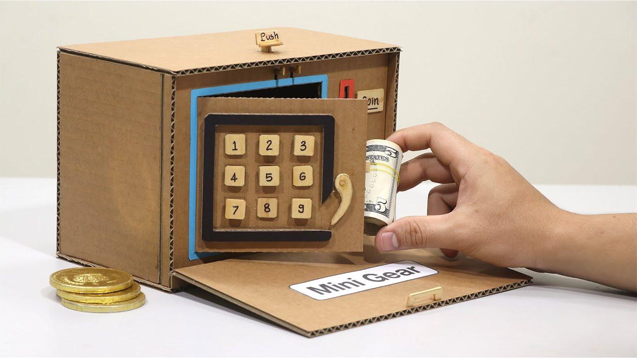 How to make Safe Lock No DC Motor Vs Safe Lock DC Motor