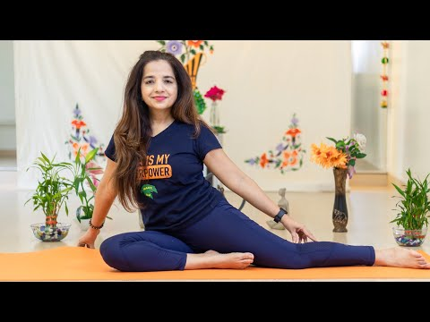 Live Yoga Session #21 | Sitting Exercises For Back Pain Relief, Pranayamas and Meditation