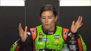 Danica Patrick Pre-Brickyard 400 Interview NASCAR Video