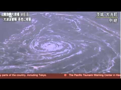 japan whirlpool tsunami 11th March 2011