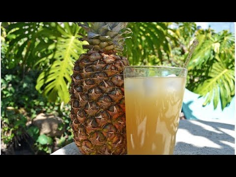 #how to : make tepache probiotic fruit drink #كيف نصنع عصير