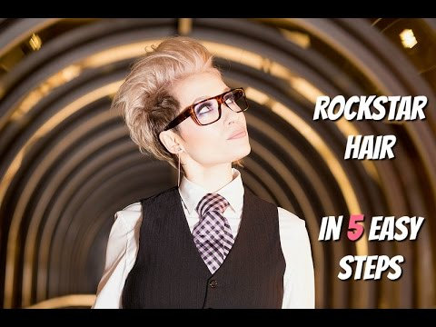 Get my rockstar hair in 5  easy steps!