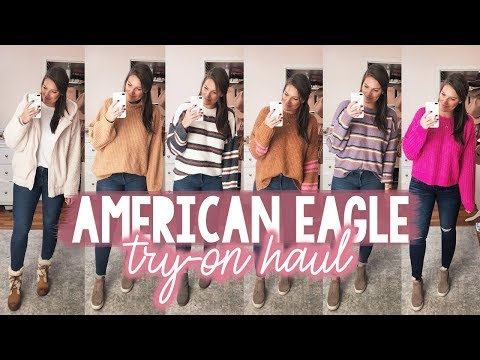 AMERICAN EAGLE TRY-ON HAUL FALL 2019 | Sarah Brithinee
