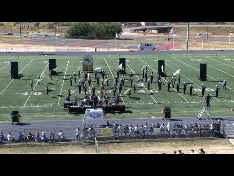 2018 HRHS Falcon Regiment - Trapped in Time - Douglas County Marching Invitational Morning