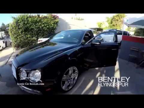 Bentley Flying Spur - Regency Car Rentals 800-847-6493