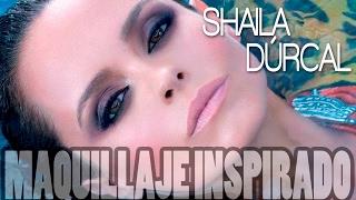 MAQUILLAJE INSPIRADO - Shaila Dúrcal , Ahumado rasgado fácil || MakeupGades ||