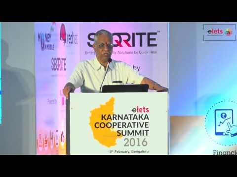 Karnataka Cooperative Summit – 2016 - Strengthening Cooperative Banking...