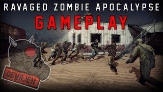 Ravaged Zombie apocalypse - Gameplay
