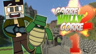 "DIRECTO ""Corre Willy Corre 2"" - Episodio 1 ""Comienza la Aventura"" - MINECRAFT Mods Serie 