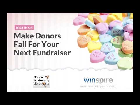 Make Donors Fall For Your Next Fundraiser