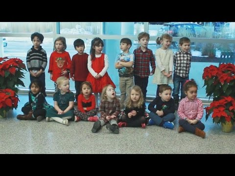 Creative Child Center Carolers Entertain at UConn Health