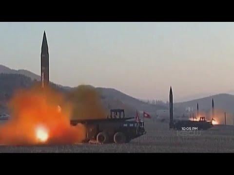 North Korea Medium-Range Missile Test Sets Nations On Edge