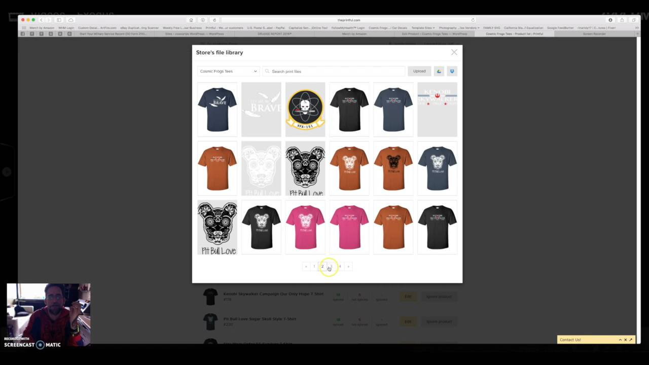 Create Your Own T Shirt Site with Printful - My Multiple Streams