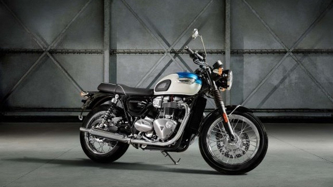 Beautifully styled and now even more accessible, the bonneville t100 and t100 black.