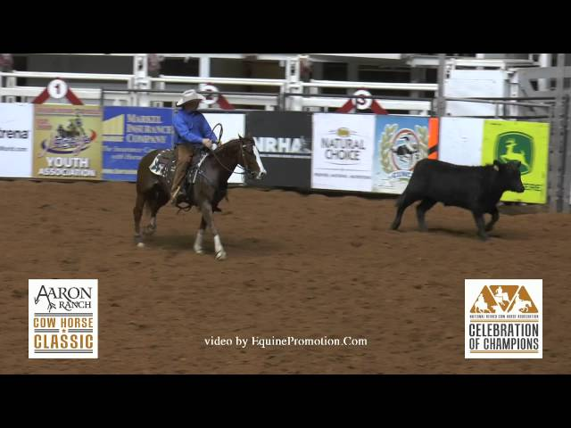 Red Hot Jade ridden by Cody McArthur - 2014 NRCHA Celeb. of Champ.(Aaron Ranch Derby - Open Finals) Travel Video
