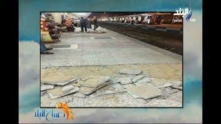 إهمال وتكسير في أجزاء من محطة سكك حديد الأقصر بعد ٣ شهور من انتهاء اعمال التطوير يثير غضب المواطنين
