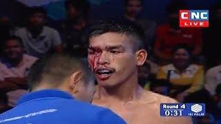 Puch Chhairithy vs Neng Trakan(thai), Khmer Boxing CNC 22 April 2018, Kun Khmer vs Muay Thai