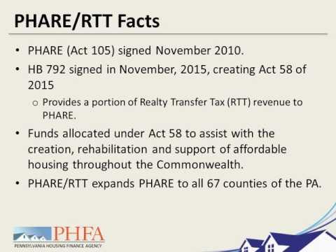 Webinar: Using PHARE Funds for Preventing and Ending Homelessness