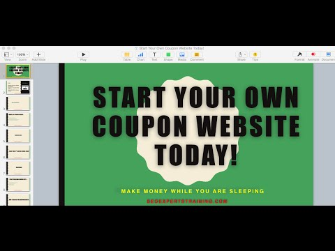Start Your Own Coupon Website Today!