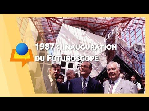 Inauguration du Futuroscope par Jacques Chirac – 26 juin 1987
