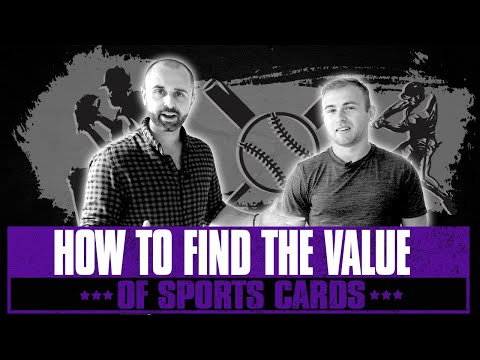 How To EASILY Find The Value Of Sports Cards To Sell Online!