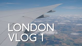 LONDON VLOG 1 福岡空港から香港国際空港、ヒースロー空港へ