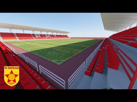 Stadiumi ri i Partizanit (Partizani New Stadium) Future Stadiums in Albania
