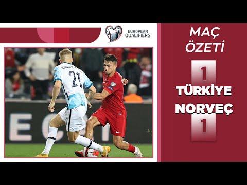 2022 Dünya Kupası Elemeleri | Türkiye - Norveç (Özet)
