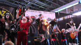 "KISS Alive - cover of ""Rock And Roll All Nite"" - WPLR Toy Drive - December 06, 2013"