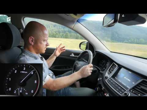 Hyundai Tucson 1,7 CRDi 7DCT test dvojspojkovej prevodovky
