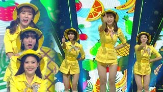 《EXCITING》 OH MY GIRL BANHANA(오마이걸 반하나) - Banana allergy monkey(바나나 알러지 원숭이) @인기가요 Inkigayo 20180415 - Stafaband