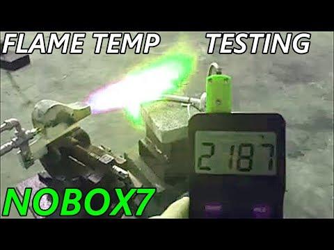 Thermal couple TEST propane ,veggie vs waste oil