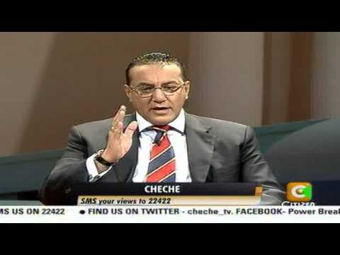 Cheche Interview with Najib Balala Part 1