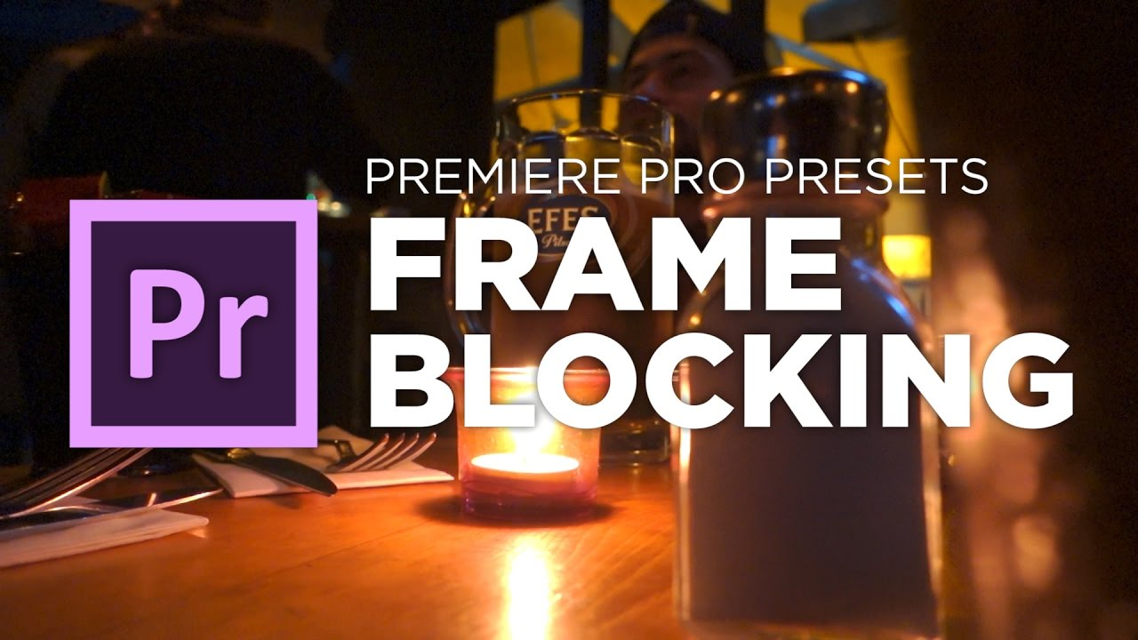 Download This Awesome Free Frame Blocking Transition for Adobe