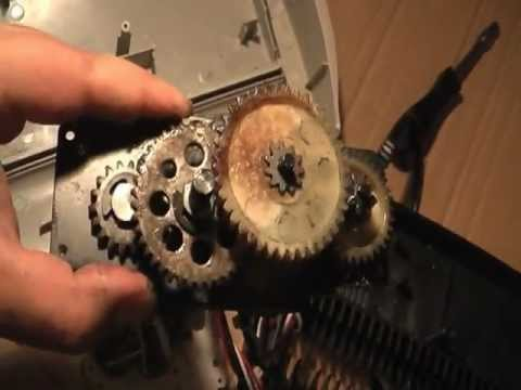 dissasembly and repair of a fellowes paper shredder youtube